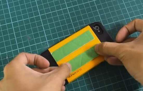 Proyektor Smartphone Dari Kardus Sepatu 9