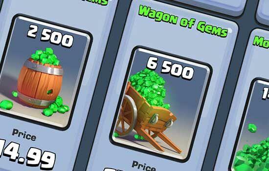 Gems Clash Royale 4