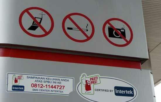 Tempat Terlarang Menggunakan Smartphone 4