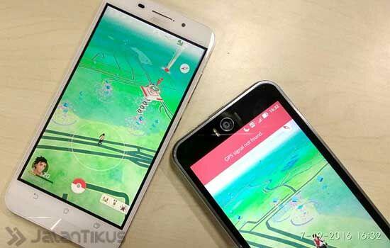 Dua Smartphone Pokemon Go 2