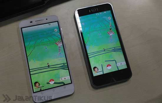 Dua Smartphone Pokemon Go 5