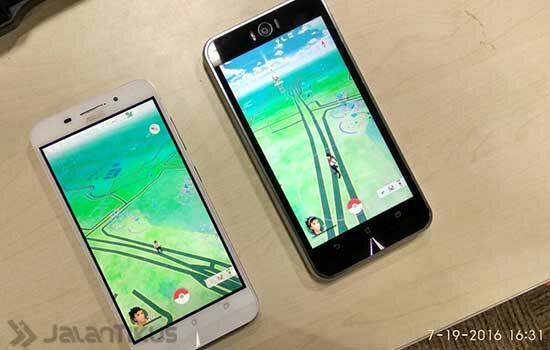 Dua Smartphone Pokemon Go