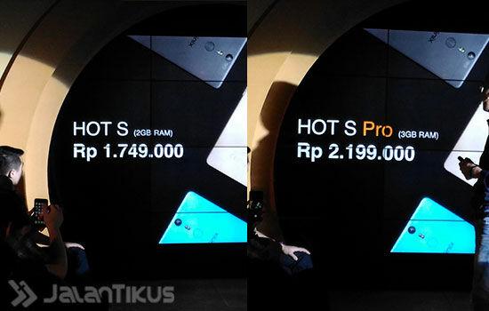 Infinix Hot S 7