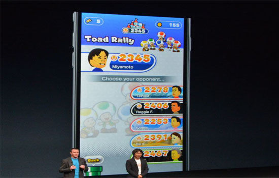 Super Mario Iphone Dan Android Toad Rally