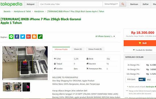 Alasan Orang Beli Iphone 7