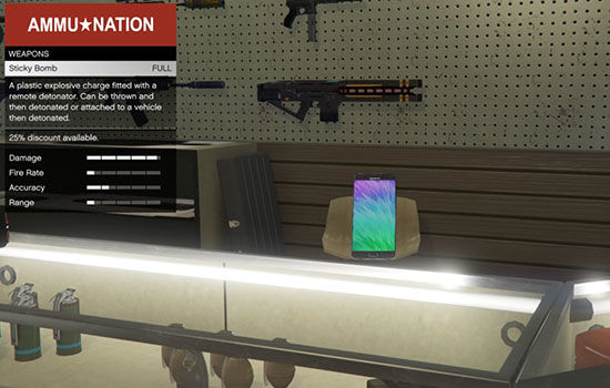 Mod Gta V Galaxy Note 7 2