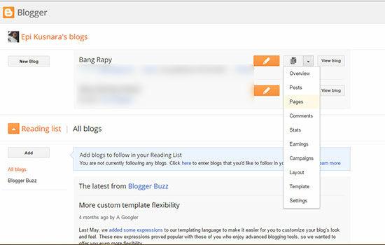 Cara Membuat Daftar Isi Di Blog 2