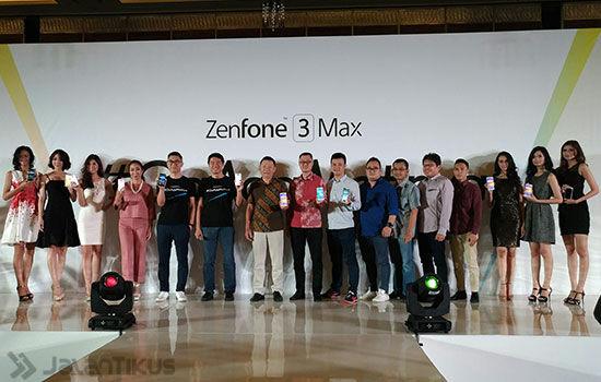 Asus Zenfone 3 Max Launching 2