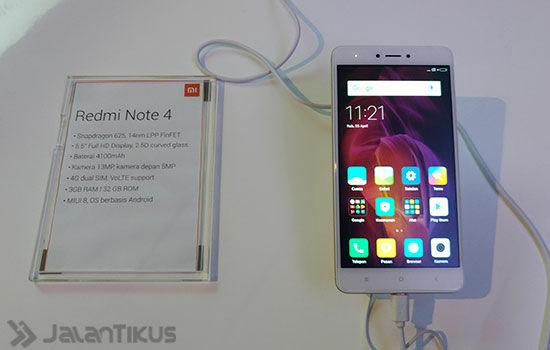Xiaomi Redmi Note 4 Dan Xiaomi Redmi 4x 5