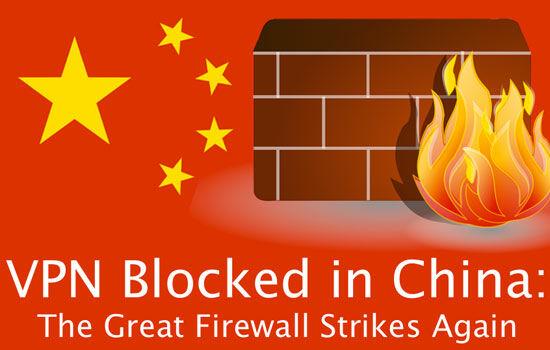 China Blokir Vpn
