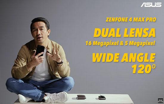 Fakta Joe Taslim Asus Zenfone 4 Max Pro 4