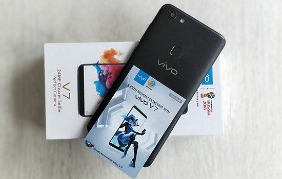 Hands On Vivo V7 4