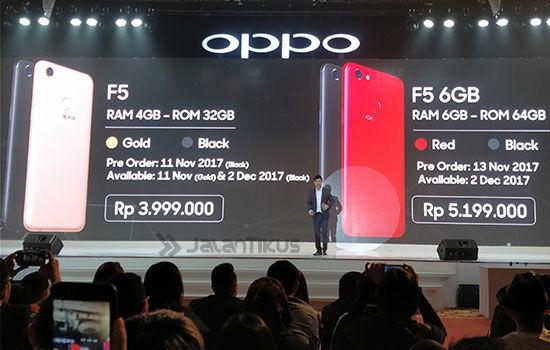 Oppo F5 Di Indonesia 4