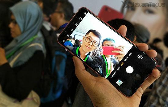 Oppo F5 Di Indonesia