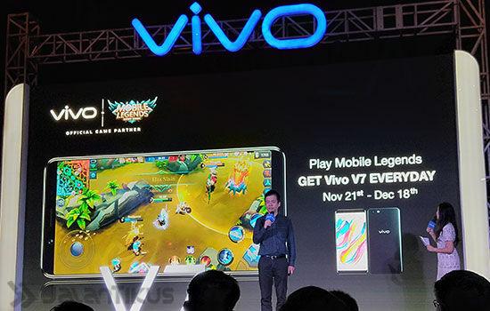 Vivo V7 Launching