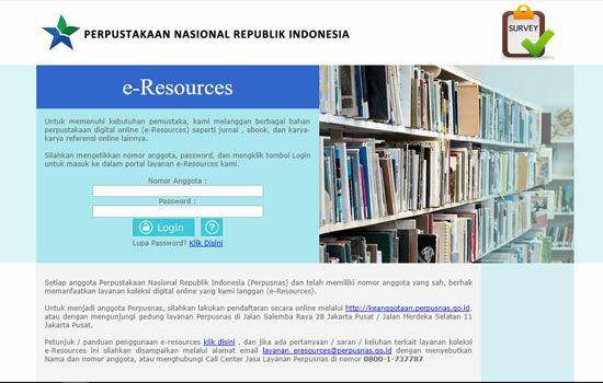 E Resources Perpusnas