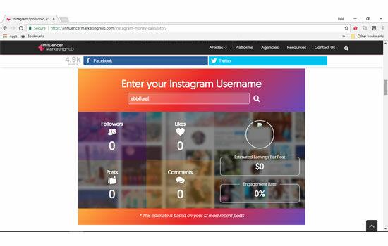Cara Tau Harga Postingan Instagram 3