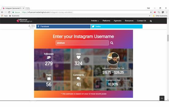 Cara Tau Harga Postingan Instagram 4