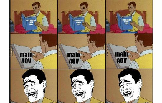 Kumpulan Meme Aov 1