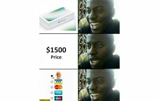 Meme Tentang Iphone X 3