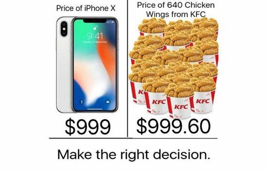 Meme Tentang Iphone X 4