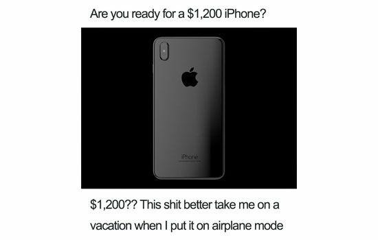Meme Tentang Iphone X 7