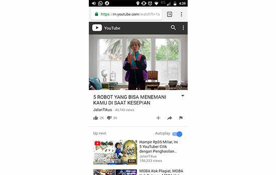 Cara Memutar Youtube Pada Background