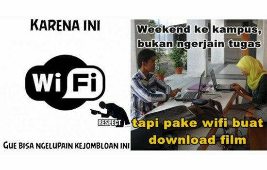 Meme Tentang Wi Fi 6