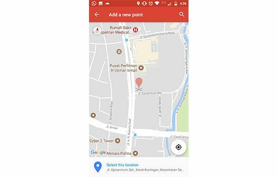 Cara Buat Maps Sendiri 5