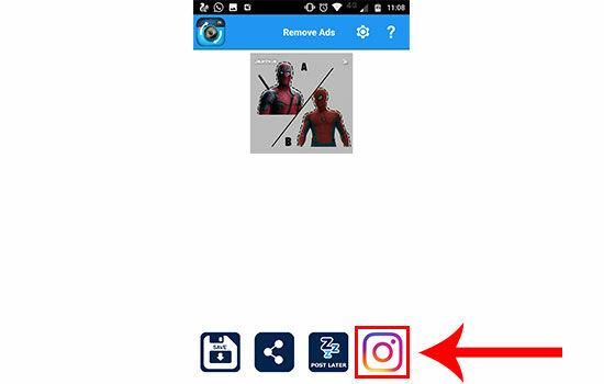 Как сделать репост в Instagram 8