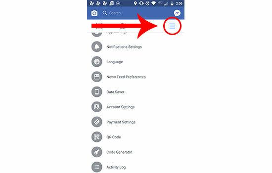 Cara Sembunyikan Akun Facebook