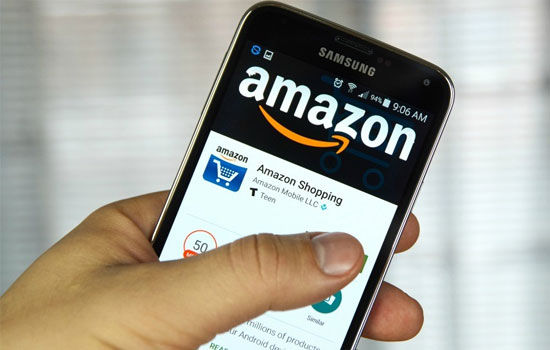 Aplikasi Boros Memori Amazon Shopping