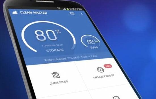 Aplikasi Boros Memori Clean Master