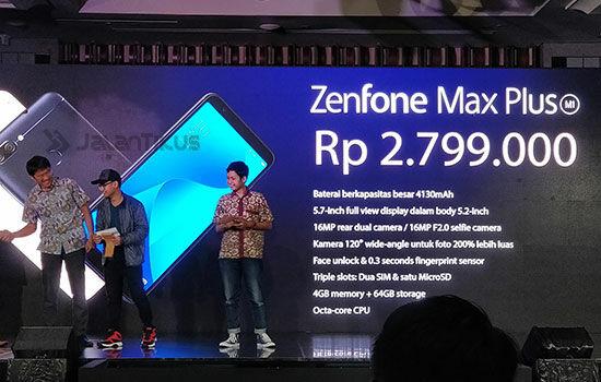 Harga Asus Zenfone Max Plus M1 3 4d522