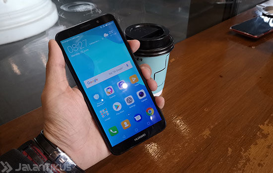 Unboxing Huawei Y5 Prime 2018 3 195f7