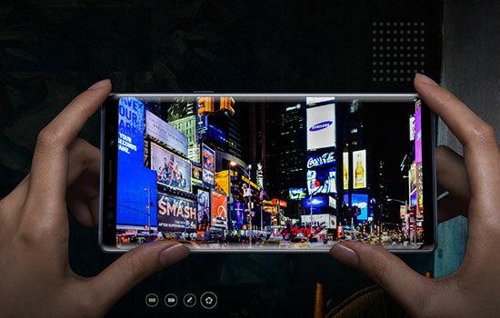 Kamera Samsung Galaxy Note9 4e598