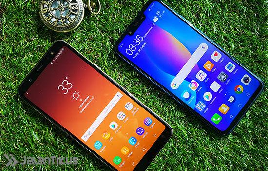 Huawei Nova 3i Vs Samsung Galaxy A6 Plus 2 F454d
