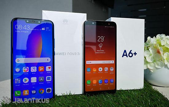 Huawei Nova 3i Vs Samsung Galaxy A6 Plus 4 C8929