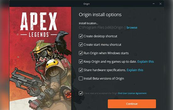 Apex Legends Installer Beta 10b08