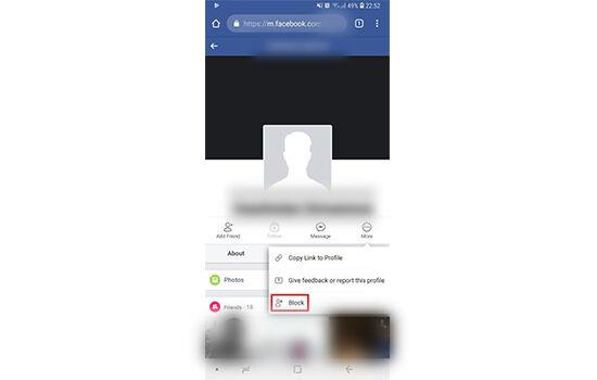 Cara Memblokir Facebook Orang HP 1 9f918