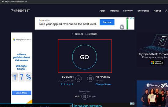 Cara Mengecek Kecepatan Internet Speedtest Net 29135