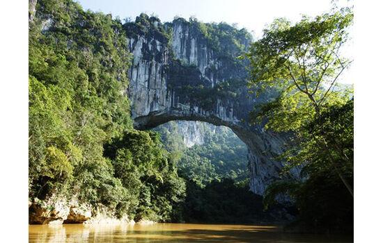 Jembatan Alam Terpanjang Di Dunia 4cfcc
