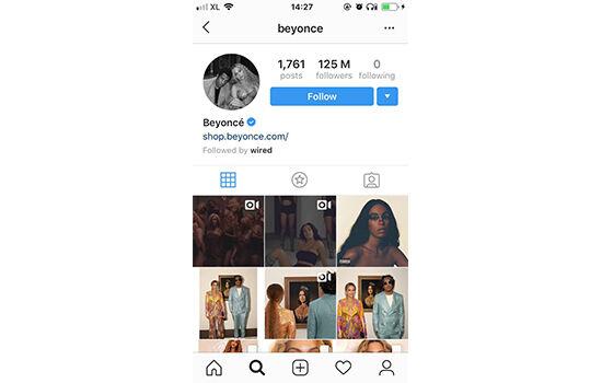 Akun Instagram Dengan Followers Terbanyak Beyonce Fef94