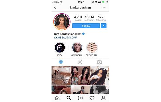 Akun Instagram Dengan Followers Terbanyak Kim Kardashian 50c9f