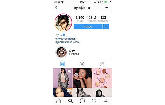 Akun Instagram Dengan Followers Terbanyak Kylie Jenner 8e7a9