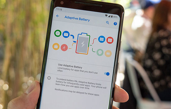 Fitur Android Pie Adaptive Battery 19896