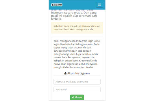 Situs Auto Followers Instagram