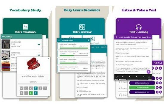 10 Aplikasi Belajar TOEFL Terbaik di Android | Gratis