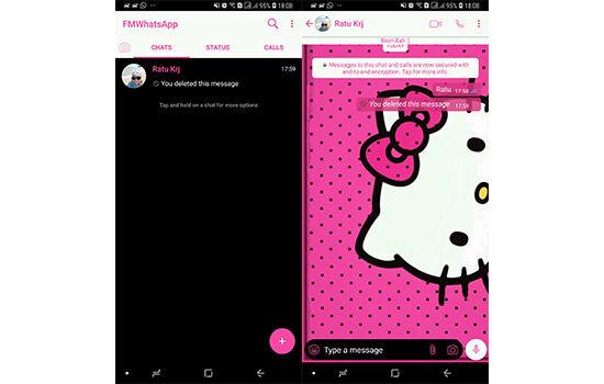Tema Whatsapp Hello Kitty 2 91c6e