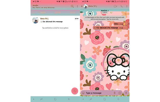 Tema Whatsapp Hello Kitty 5 84eb2